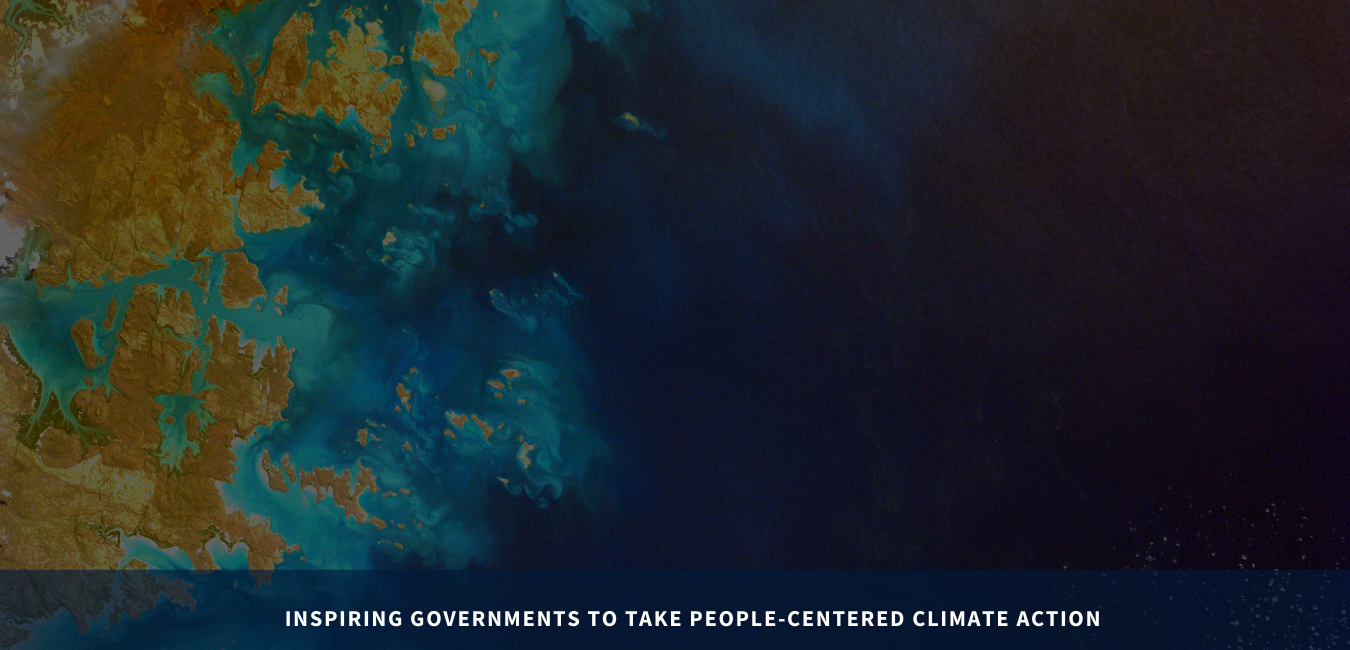 Inspiring governments to take people-centered climate action